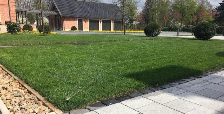 Bewässerung für Privatgärten