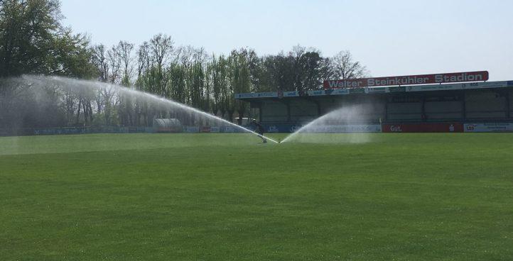 Bewässerungstechnik für Sportanlagen